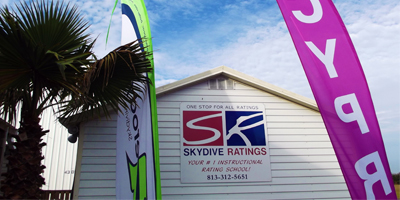 Skydive Ratings Facilities